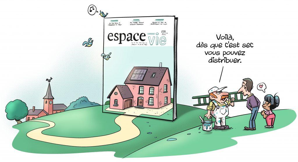 Un dessin humoristique de Marco Paulo